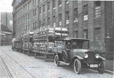 Truck Type P 8/24 before Brennabor plant (Schützenstraße) end of the 20s