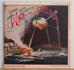 The Styrous® Viewfinder: 20,000 Vinyl LPs 26: Jeff Wayne ~ The War of the Worlds