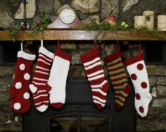 Ravelry: Crochet Christmas Stockings Quick and Easy pattern by Kat Kennedy