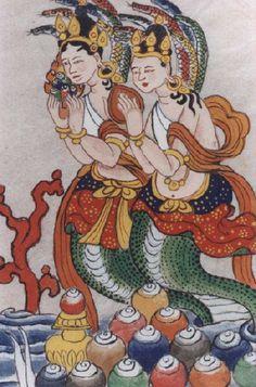 Naga deities