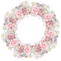VK is the largest European social network with more than 100 million active users. Flower Frame, Flower Crown, Flower Art, Decoupage, Borders And Frames, Frame Wreath, Paper Frames, Flower Backgrounds, Vintage Labels