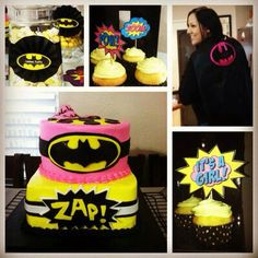 Batman Baby shower