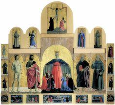 Piero della Francesca · Polittico della Misericordia · 1445-60 ca · Museo civico · Sansepolcro