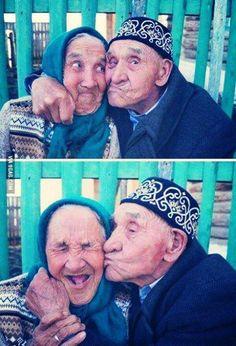 Når jeg blir gammel, så vil jeg sidde på en bænk...