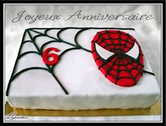 Gateau déco Spiderman