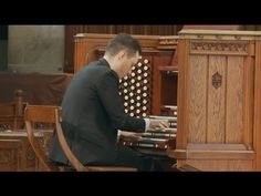 Dazzling young organist Christopher Houlihan returns to Rockefeller Chapel to play a virtuoso recital of music by J. Brass Quintet, Recital, Army, Concert, Videos, Music, Youtube, Gi Joe, Military