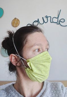 Diy Masque, Coin Couture, Workshop, Facial Masks, Crochet, Sewing, Knitting, Accessories, Beauty