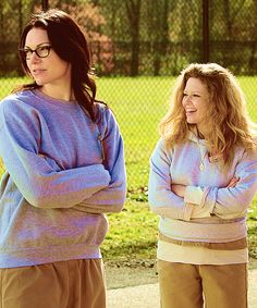 Laura Prepon and Natasha Lyonne (Orange is the New Black)