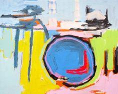 "Saatchi Art Artist Andy Shaw; Painting, ""Rolling Rock"" #art"