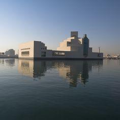 Museum of Islamic arts in Doha, Qatar, arch. I. M. Pei (from http://www.dezeen.com/2008/12/02/museum-of-islamic-art-by-im-pei/#)