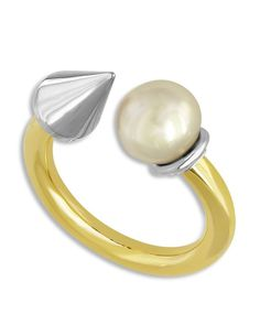 Majorica Spiked Simulated Pearl Ring