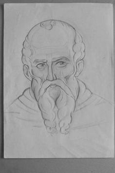 Saints And Sinners, Orthodox Icons, Drawing Techniques, Learn To Draw, Painting & Drawing, Angel, Drawings, Illustration, Cartoons