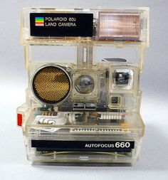 See through Polaroid.