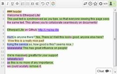 allows students to collaborate on projects in real time. Students get the benefit of a collective effort by observing other student's writing styles, strengths and weaknesses. It allows them to both critique and be critiqued.