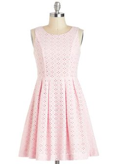 Sooooo Sweet! This would be perfect on my 13 year old beauty. For Em.    Princess of Posies Dress, #ModCloth