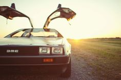 This car tho.... DeLorean