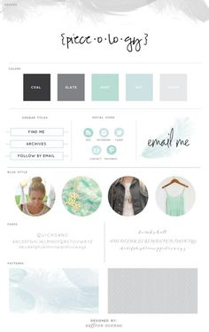 A collection of brand board style guides for inspiration for your next design project Graphic Design Branding, Corporate Design, Identity Design, Logo Design, Brand Identity, Brand Design, Site Web Design, Blog Design Inspiration, Logos