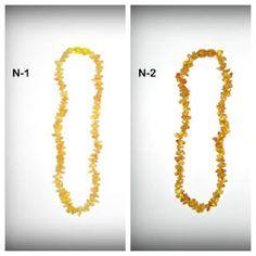 Baltic Amber Teething Necklaces ~ N-1; N-2 **$13 each