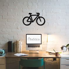 Metal Wall Art - Bicycle - Interior Decoration - Home Decor by BafidicaHomeDecor on Etsy
