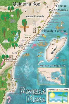 Boucle de Cozumel Mexique carte bagage Tags 45 à 175 ch. Cozumel Mexico Map, Mexico Vacation, Mexico Travel, Cancun Vacation, Akumal Mexico, Quintana Roo Mexico, Tulum Cenotes, Italy Vacation, Cozumel Mexico