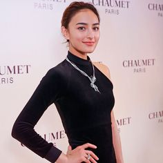 Jun Hasegawa (@liveglenwood), attending Chaumet World event at the Rosewood Hotel in Beijing. #Chaumet #ChaumetWorld #ChaumetArtofJewellery #HighJewellery