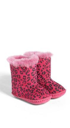 Love! Pink + Leopard UGG Boots