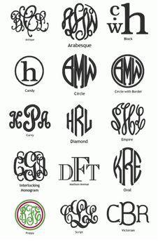 Monograms 3