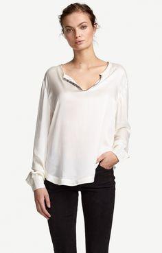 Hays Sanded Silk Top