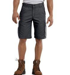 6e05cbdbca68 Men's Carhartt Tappen Cargo Shorts Grayish Relaxed Fit Size 44 Inseam 11  New #fashion #