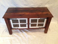 TV Stand by ReclaimedArt717 on Etsy