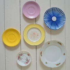 vintage porselain borden Retroloekie webshop