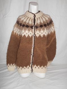 Vintage beautiful sweater cardigan  pure new by ATELIERVINTAGESHOP, $30.00