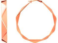 Boucles d'oreilles Kenzo. Bijoux créateurs. En vente en boutique et sur notre site internet : http://www.bijouterie-influences.com/search.php?search_query=folds+kenzo
