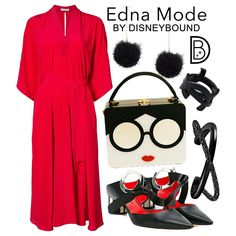 """8e4fa7833e8 DisneyBound on Instagram  """"It s a day dedicated to  pixar s  theincredibles  2 over on www.disneybound.co! 👓  DisneyBound  ednamode  theincredibles2 ..."""