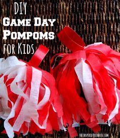 Tutorial / Homemade game pompoms