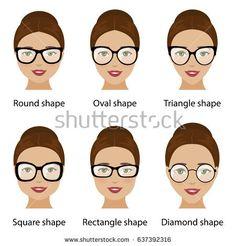 8b604c7773b7d Image result for cute womens eyeglass frames for round faces Frames For Round  Faces