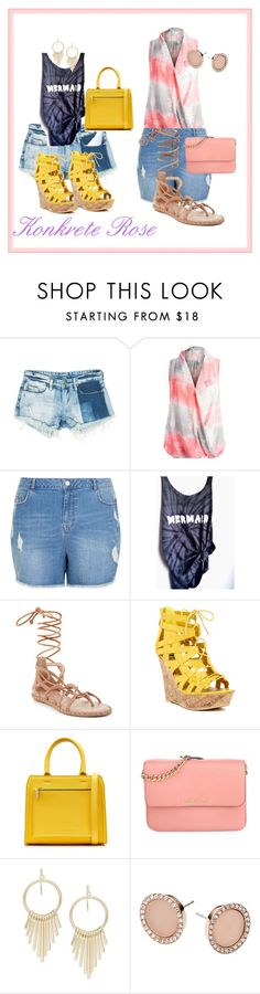 Rock Tie Dye This Summer! by konkreterose-kb on Polyvore featuring Sans Souci, New Look, BCBGMAXAZRIA, G by Guess, Victoria Beckham, Michael Kors, Design Lab, tiedye and konkreterose
