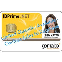 Gemalto IDPrime .NET 511 with DESFire EV1 4K - 10 pack