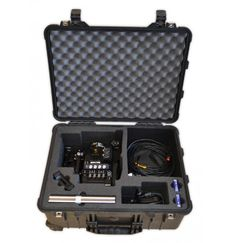 The Peli 1560 is an excellent camera case for outdoor and indoor events due to its great waterproof and tough properties. The black foam insert is designed to fit Sony PMW F5 camera