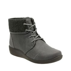 Sillian Frey Grey Synthetic Nubuck womens-narrow-fit-ankle-boots