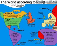 the world according to the Daily Mail
