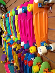 Penny boards. These are small skateboards, perfect for getting around campus! Also will fit in your backpack!