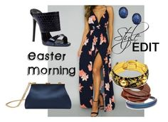 """""""Style Edit: Easter Morning"""" by damaris-herron-watkins ❤ liked on Polyvore featuring Giuseppe Zanotti, Alexis Bittar, Kenneth Jay Lane and Mansur Gavriel"""