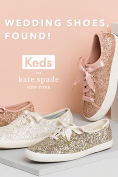 Ideas For Kate Spade Bridal Shoes Keds Fall Wedding, Our Wedding, Dream Wedding, Wedding Updo, Wedding Bride, Wedding Stuff, Lauren Conrad, Shoe Game Wedding, Wedding Tennis Shoes