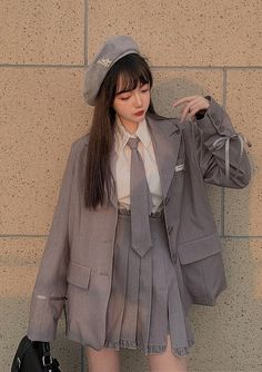 Korean Girl Fashion, Korean Fashion Trends, Korean Street Fashion, Ulzzang Fashion, Harajuku Fashion, Kawaii Fashion, Japanese Fashion, Cute Fashion, Edgy Outfits