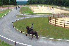 I don't racw, and I'm not a huge fan of racing, but this would be so perfect to condition my event horses!!