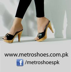 Metro Shoes Collection For Formal Parties 2014 For Females