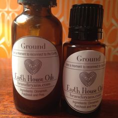 Ground Take a moment to Reconnect to the Earth. by EarthHouseOils, $12.00