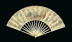 Faltfächer, Holland() um 1780,