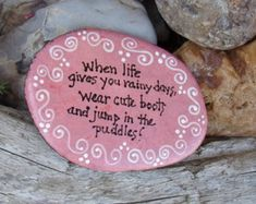 Best Quotes Painted Rock for Home Your Home Decoration (50)
